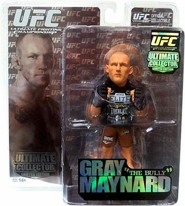 Round 5 UFC Ultimate Collector Series 6 LIMITED EDITION Action Figure Gray Maynard Only 1,500 Made!