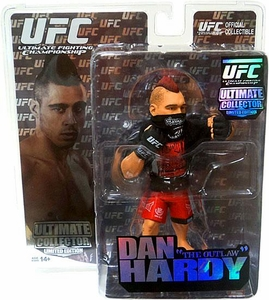 Round 5 UFC Ultimate Collector Series 6 LIMITED EDITION Action Figure Dan Hardy Only 1,500 Made!