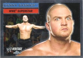 Topps CHROME WWE Heritage Trading Card Superstar # 15 Danny Basham