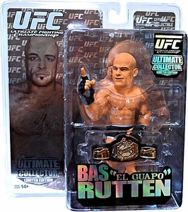 Round 5 UFC Ultimate Collector LIMITED EDITION Action Figure Bas