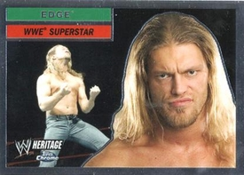 Topps CHROME WWE Heritage Trading Card Superstar # 16 Edge JUST REDUCED!