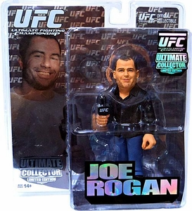 Round 5 UFC Ultimate Collector LIMITED EDITION Action Figure Joe Rogan Only 1,998 Made!