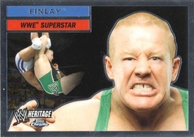 Topps CHROME WWE Heritage Trading Card Superstar # 17 Finlay