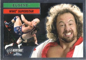 Topps CHROME WWE Heritage Trading Card Superstar # 18 Eugene