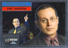 Topps CHROME WWE Heritage Trading Card Superstar # 19 Joey Styles