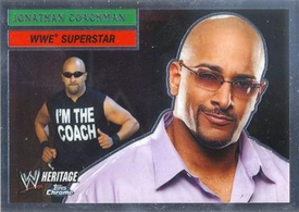 Topps CHROME WWE Heritage Trading Card Superstar # 20 Jonathan Coachman