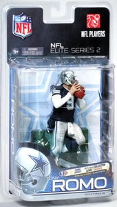 McFarlane Toys NFL Sports Picks NFL Elite 2011 Series 2 Action Figure Tony Romo (Dallas Cowboys)