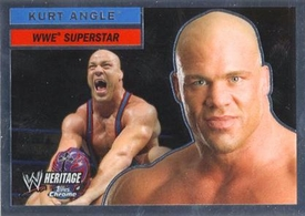 Topps CHROME WWE Heritage Trading Card Superstar # 23 Kurt Angle