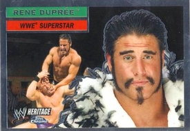 Topps CHROME WWE Heritage Trading Card Superstar # 24 Rene Dupree