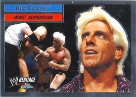 Topps CHROME WWE Heritage Trading Card Superstar # 25 Ric Flair