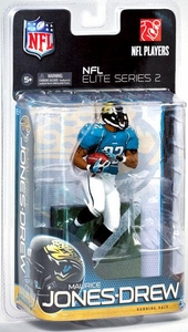 McFarlane Toys NFL Sports Picks NFL Elite 2011 Series 2 Action Figure Maurice Jones-Drew (Jacksonville Jaguars)