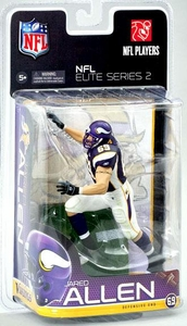 McFarlane Toys NFL Sports Picks NFL Elite 2011 Series 2 Action Figure Jared Allen (Minnesota Vikings)