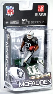 McFarlane Toys NFL Sports Picks NFL Elite 2011 Series 2 Action Figure Darren McFadden (Los Angeles Raiders) Black Jersey