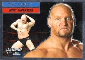 Topps CHROME WWE Heritage Trading Card Superstar # 30 Val Venis