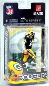 McFarlane Toys NFL Sports Picks NFL Elite 2011 Series 2 Action Figure Aaron Rodgers (Green Bay Packers)