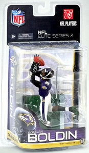 McFarlane Toys NFL Sports Picks Exclusive NFL Elite 2011 Series 2 Action Figure Anquan Boldin (Baltimore Ravens)