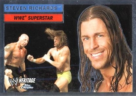 Topps CHROME WWE Heritage Trading Card Superstar # 32 Steven Richards