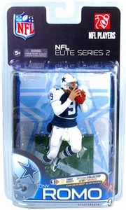 McFarlane Toys NFL Sports Picks NFL Elite 2011 Series 2 Action Figure Tony Romo (Dallas Cowboys) Thanksgiving Uniform Collector Level Chase Only 3,000 Made!