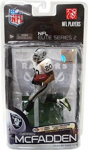 McFarlane Toys NFL Sports Picks NFL Elite 2011 Series 2 Action Figure Darren McFadden (Los Angeles Raiders) White Jersey Bronze Collector Level Chase Only 2,500 Made!