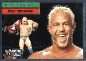 Topps CHROME WWE Heritage Trading Card Superstar # 35 Ken Kennedy