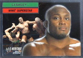 Topps CHROME WWE Heritage Trading Card Superstar # 37 Lashley LAST ONE!
