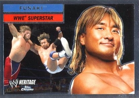 Topps CHROME WWE Heritage Trading Card Superstar # 38 Funaki