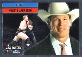 Topps CHROME WWE Heritage Trading Card Superstar # 40 John Bradshaw Layfield