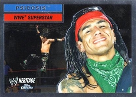 Topps CHROME WWE Heritage Trading Card Superstar # 42 Psycosis