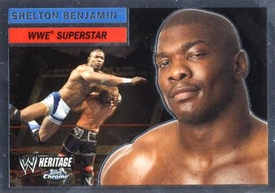 Topps CHROME WWE Heritage Trading Card Superstar # 44 Shelton Benjamin
