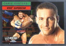 Topps CHROME WWE Heritage Trading Card Superstar # 45 Chris Masters