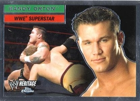 Topps CHROME WWE Heritage Trading Card Superstar # 47 Randy Orton JUST REDUCED!