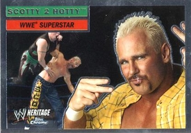 Topps CHROME WWE Heritage Trading Card Superstar # 49 Scotty 2 Hotty