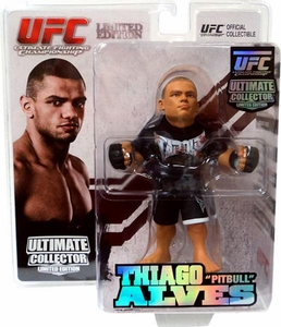 Round 5 UFC Ultimate Collector Series 7 LIMITED EDITION Action Figure Thiago Alves Only 750 Made!