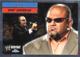 Topps CHROME WWE Heritage Trading Card Superstar # 50 Tazz