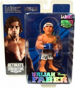 Round 5 UFC Ultimate Collector Series 7 LIMITED EDITION Action Figure Urijah Faber with Cornrows [WEC] Only 1,500 Made!
