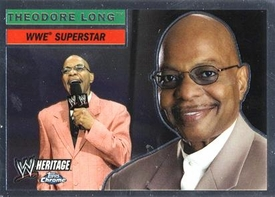 Topps CHROME WWE Heritage Trading Card Superstar # 51 Theodore Long