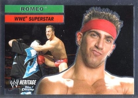 Topps CHROME WWE Heritage Trading Card Superstar # 55 Romeo