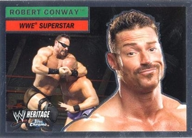 Topps CHROME WWE Heritage Trading Card Superstar # 57 Rob Conway