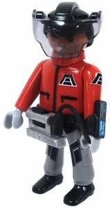 Playmobil LOOSE Mini Figure Male Dark Rangers' Explorer / Scientist [Tan Flesh]