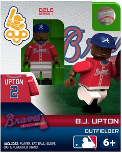 OYO Baseball MLB Generation 2 Building Brick Minifigure  B.J. Upton [Atlanta Braves]