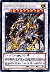 YuGiOh ZEXAL Hidden Arsenal 6: Omega XYZ Single Card Secret Rare HA06-EN023 Vylon Omega