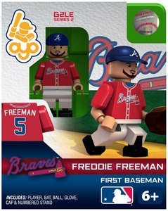 OYO Baseball MLB Generation 2 Building Brick Minifigure  Freddie Freeman [Atlanta Braves]