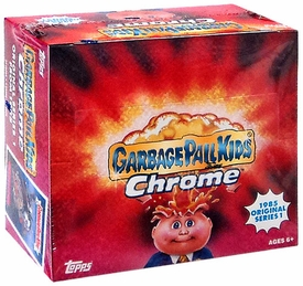 Topps Garbage Pail Kids 2013 Chrome Retail Box [24 Packs]