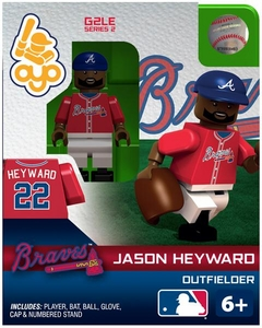 OYO Baseball MLB Generation 2 Building Brick Minifigure  Jason Heyward [Atlanta Braves]