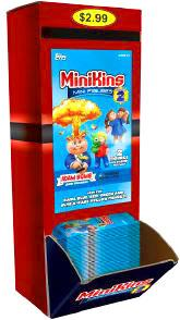 Topps Garbage Pail Kids Series 2 MiniKins Mini Figures Basic Box [24 Packs]