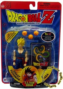 Dragonball Z Series 7 Great Saiyaman Saga Action Figure S.S. Teen Gohan Damaged Package Mint Contents!