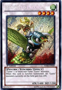 YuGiOh ZEXAL Hidden Arsenal 6: Omega XYZ Single Card Secret Rare HA06-EN049 Daigusto Falcos