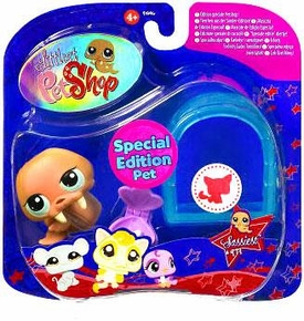 Littlest Pet Shop 2009 Assortment 'A' Series 3 Collectible Figure Walrus with Igloo [Special Edition Pet!]