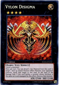 YuGiOh ZEXAL Hidden Arsenal 6: Omega XYZ Single Card Secret Rare HA06-EN052 Vylon Disigma