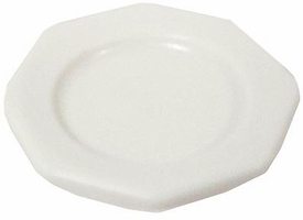 Playmobil LOOSE Accessory Small White Octogon Plate